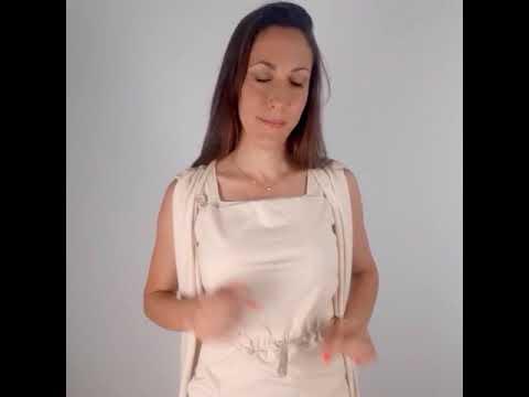 Camiseta crisálida para lactancia Amarsupiel - Video tutorial