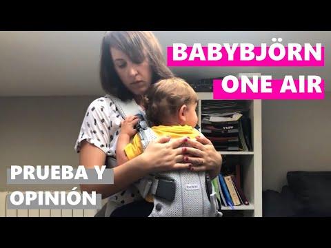 BabyBjörn One Air: prueba, análisis y opinión