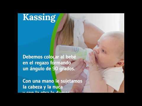 Método Kassing para dar el biberón
