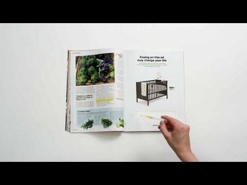 ¿Embarazada? Ikea te anima a orinar sobre uno de sus anuncios