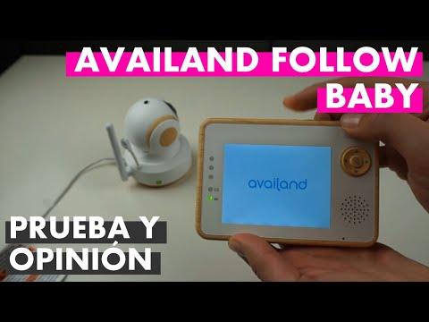 Vigilabebés Availand Follow Baby: probamos la tecnología auto-follow y el resultado es...