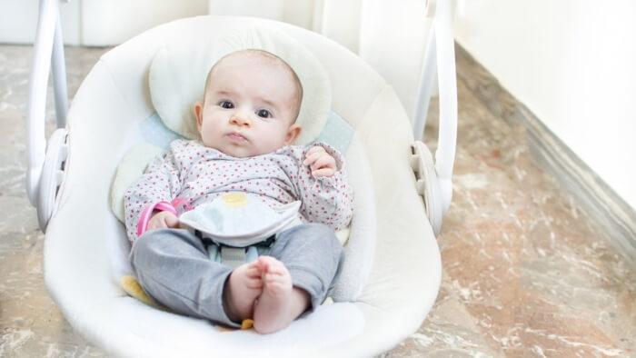 Hamaca de bebé con balancín