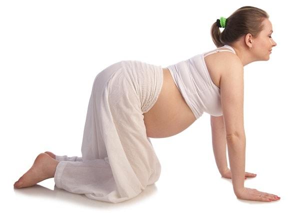 Ejercicio yoga embarazo