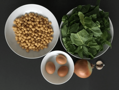 ingredientes garbanzos