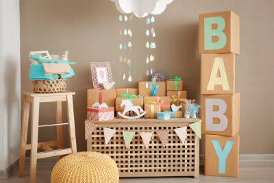 Babyshower decoración