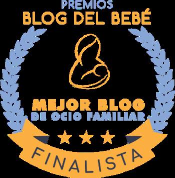 Finalista mejor blog ocio familiar