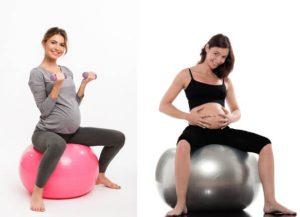 Mejor postura para el parto_pelota pilates