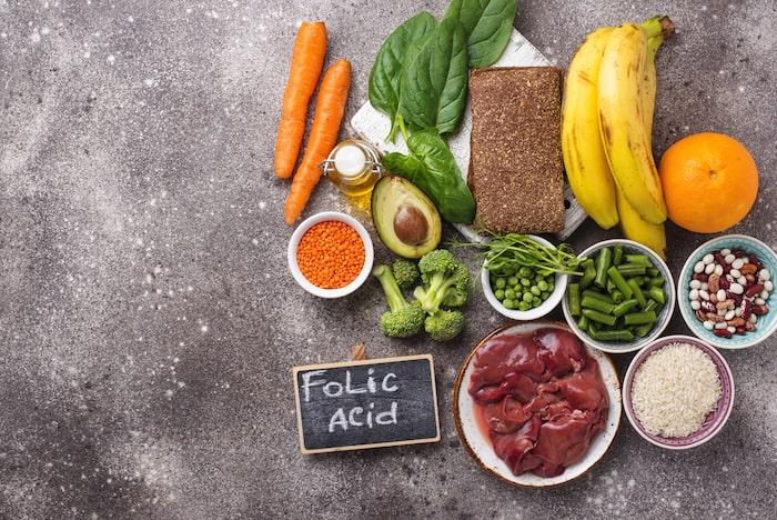 alimentos ricos en folato