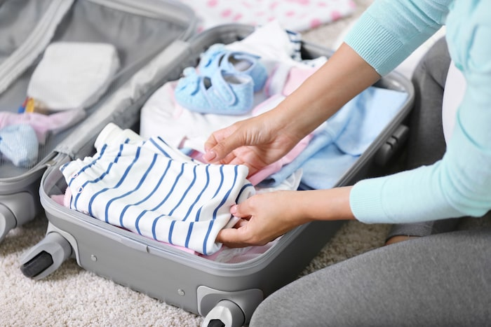 bolsa hospital bebé