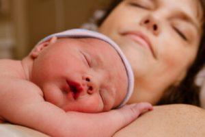 Recién nacido madre